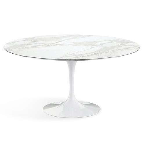 Saarinen Tulip Dining Table Marble-28521