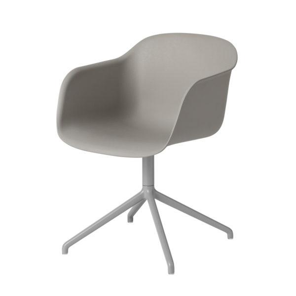 Fiber Arm Chair Swivel-27514