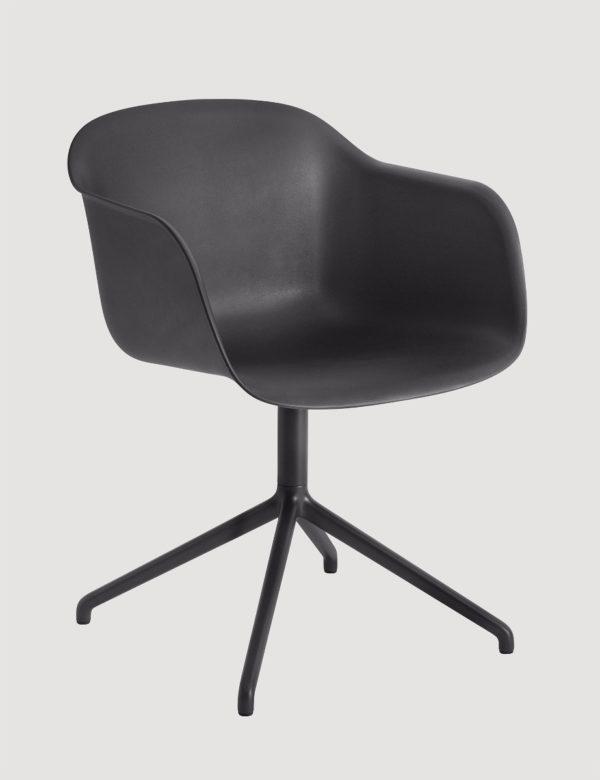 Fiber Arm Chair Swivel-27515