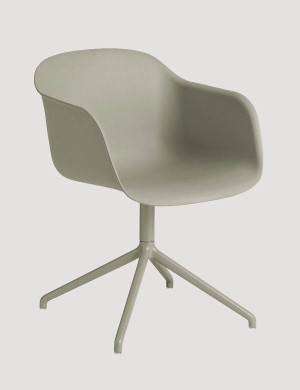 Fiber Arm Chair Swivel-27516