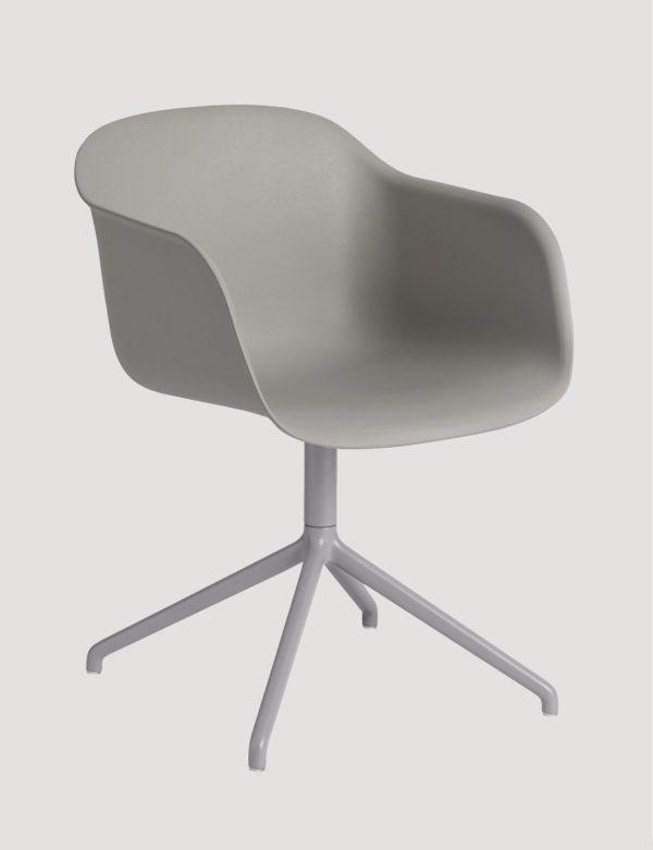 Fiber Arm Chair Swivel-27517