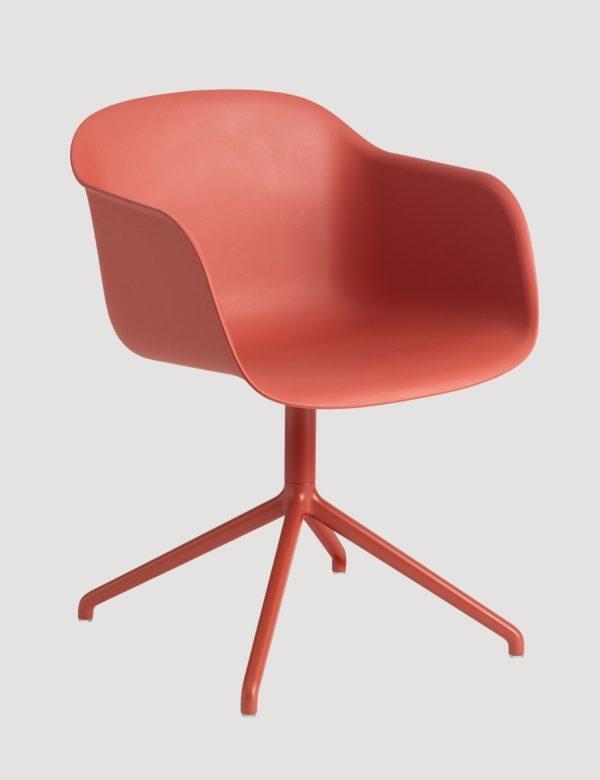 Fiber Arm Chair Swivel-27518