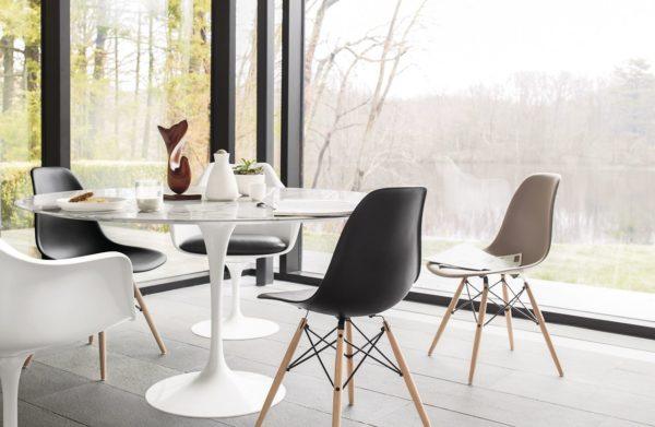 Saarinen Tulip Dining Table Marble-28519