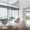 Saarinen Tulip Dining Table Marble-0