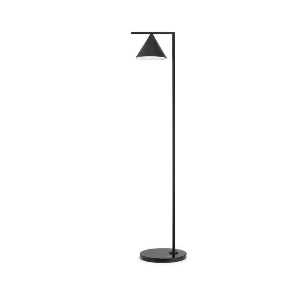 Flos Captain Flint Floor Lamp Anthracite