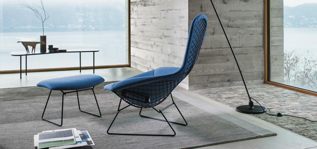 Etonnant Knoll Bertoia High Back Chair Designer Furniture Contemporary Furniture