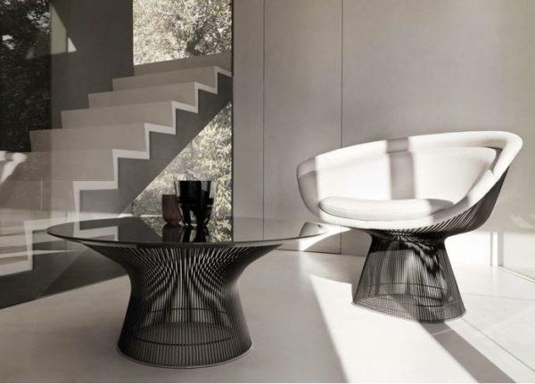 Platner Lounge Chair-0