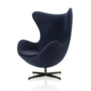 fritz-hansen egg lounge chair designer contemporary furniture
