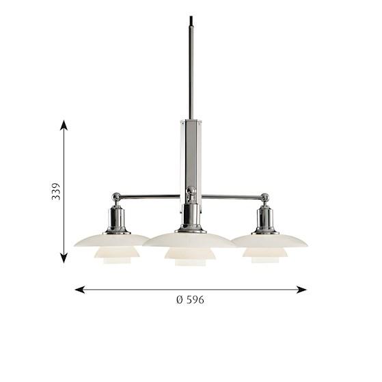 PH 2/1 Stem Fitting louis poulsen contemporary furniture designer furniture designer lighting Contemporary lighting