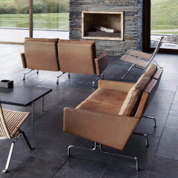 Fritz Hansen PK31 Sofa Designer furniture Contemporary furniture