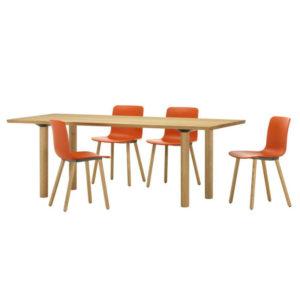 Vitra wood table designer contemporary furniture