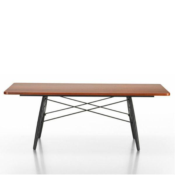 vitra eames coffee table rectangle designer contemporary furniture