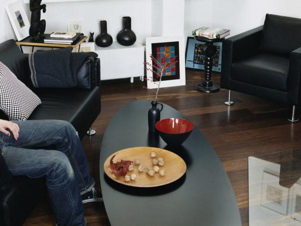 Vitra Eames Elliptical Coffee Table ETR Designer Furniture Contemporary Furniture