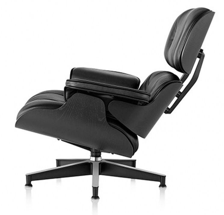 Eames Lounge Chair Black Ash 0