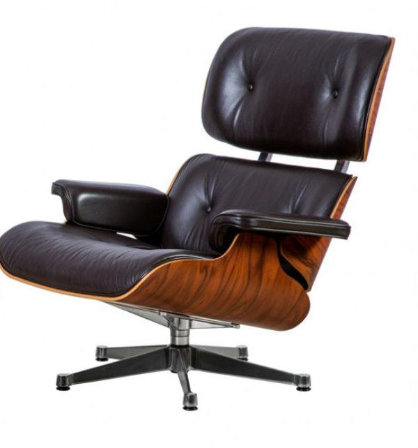 Eames Lounge Chair-Santos Palisander -0