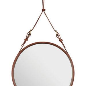 Adnet Circulaire Mirror Tan-0