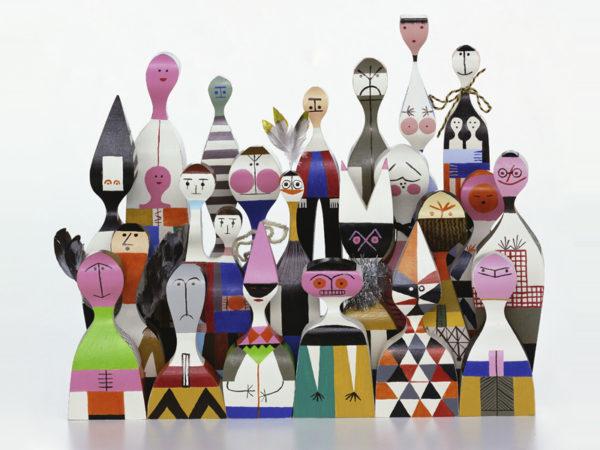 Vitra Wooden doll No5 Alexander Girard Designer Contemporary Furniture