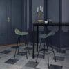 GUBI 3D Counter Stool with Centre Base Designer Contemporary Furniture