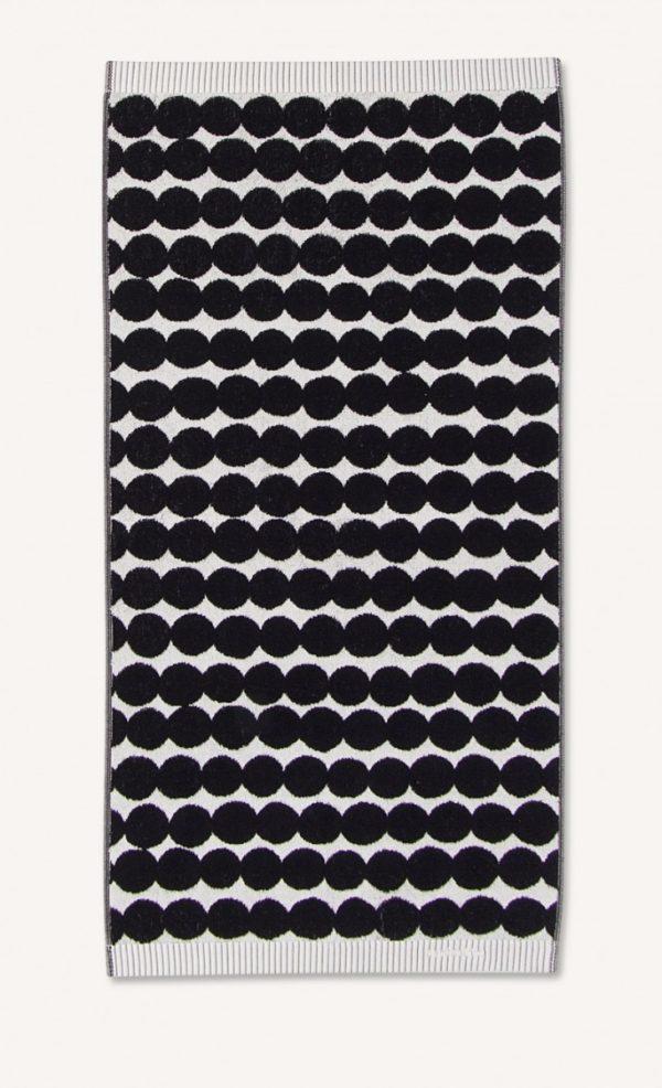 Black Räsymatto Hand Towel-0