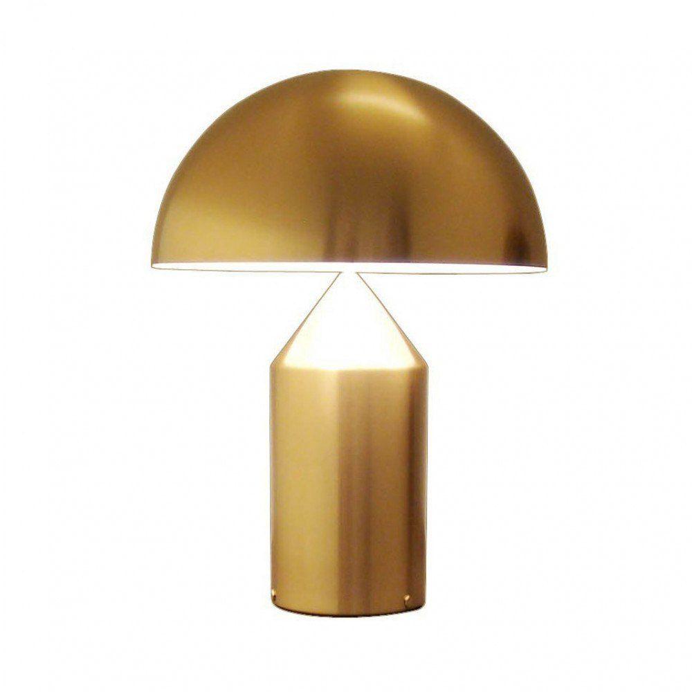 Oluce Atollo Table Lamp Gold