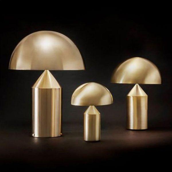 Atollo Table Lamp Gold -30712