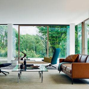 Knoll Relax Untufted Sofa Designer Contemporary Furniture