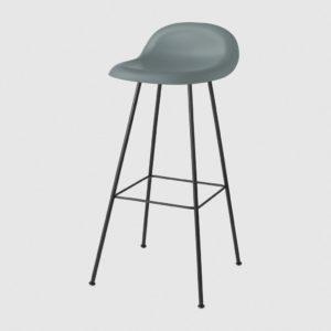 3D Bar Stool Center Base-Gubi HiRek Rainy Grey-0