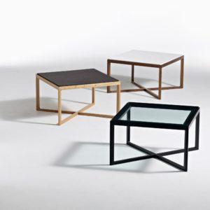 Krusin Low Table-Clear Glass Top-Ebonised Oak-30726