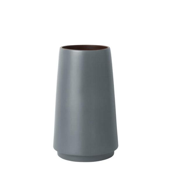 Dual Floor Vase Grey-0