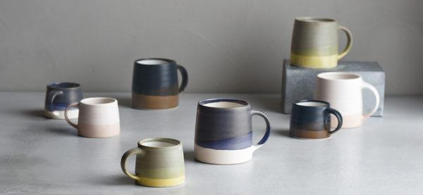 Kinto Espresso mug black/brown designer contemporary coffeeware