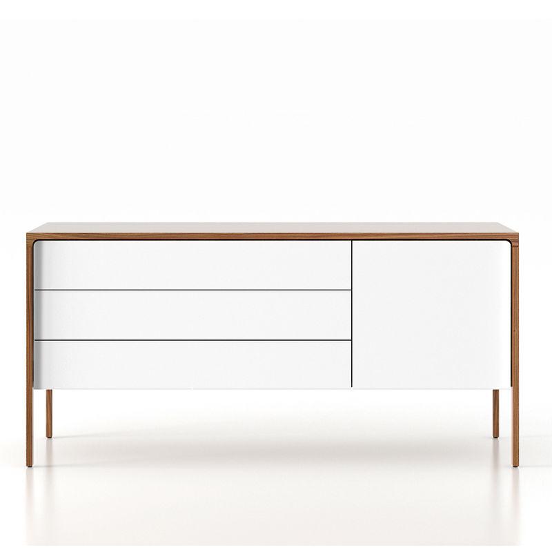 punt tactile sideboard medium white doors minima birmingham