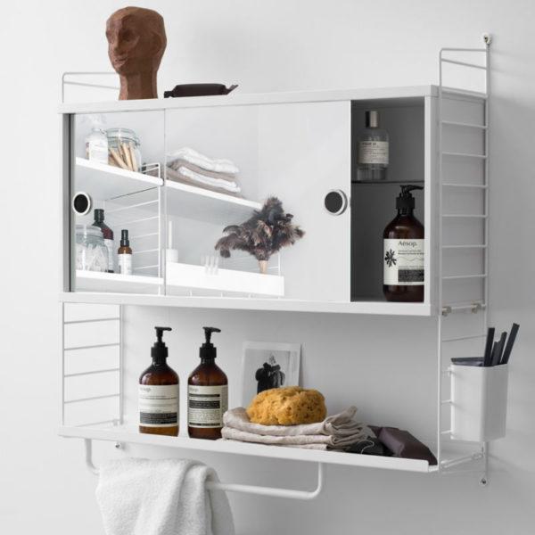 string white shelving system bathroom minima birmingham designer contemporary furniture