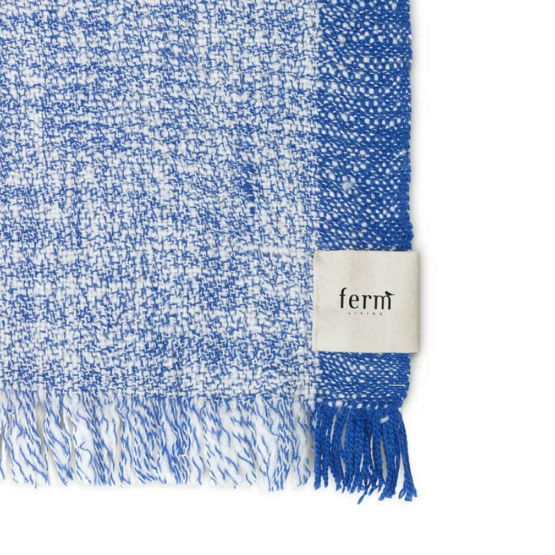 Ferm Living Enfold Blanket Detail Contemporary Designer Homeware