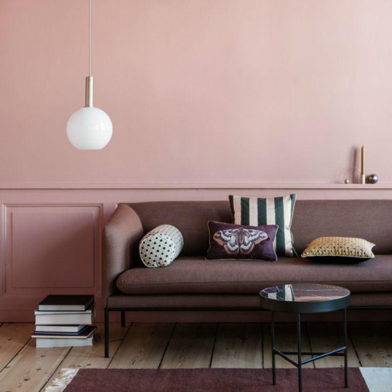 Ferm Living Pendant Light with Sphere Open Shade Lifestyle Contemporary Designer Lighting