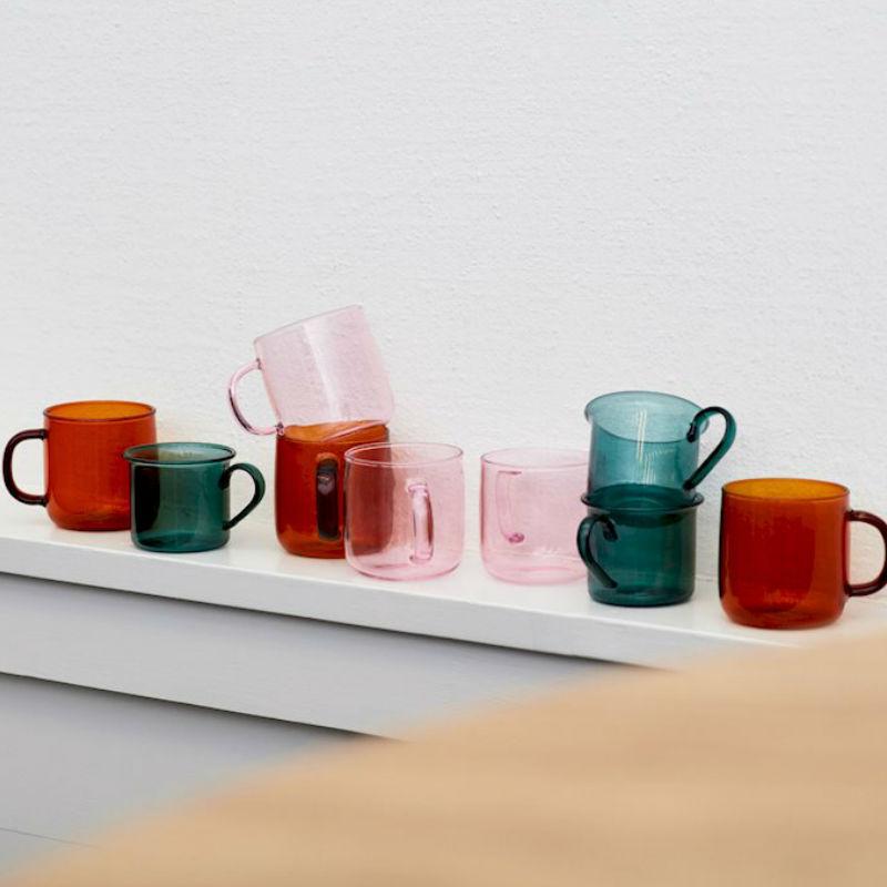 Hay Borosilicate Cup Aqua Lifestyle Contemporary Designer Homeware