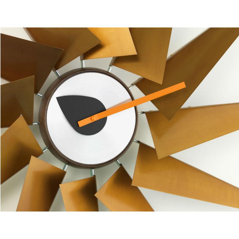 Vitra Turbine Clock Detail Contemporary Designer Homeware