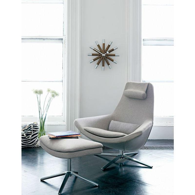 Vitra Wheel Clock Lifestyle Contemporary Designer Homeware