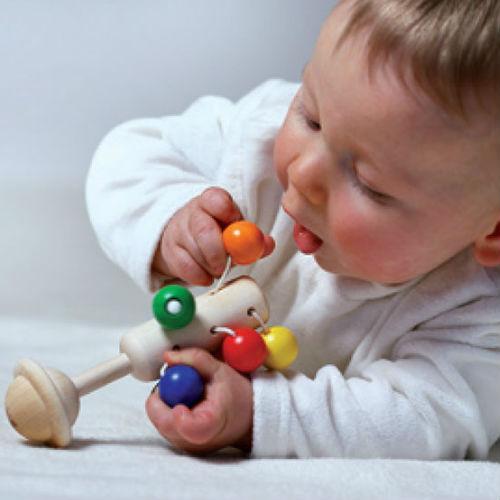 Naef Spiele Dolio Rattle Toy lifestyle Contemporary Designer Homeware