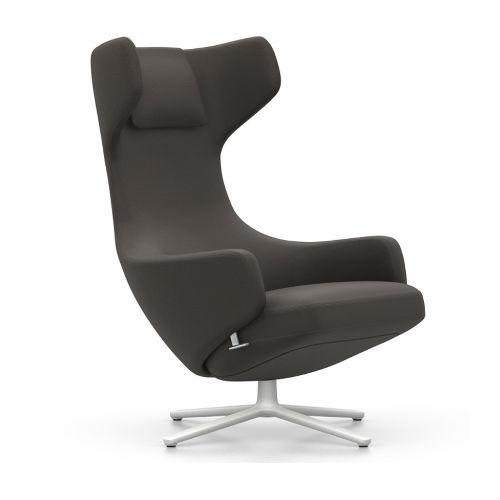 Vitra Grand Repos Lounge Mello Chair Graphite Contemporary designer Furniture