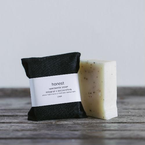 honest rosehip and eucalyptus soap Contemporary Designer Homeware