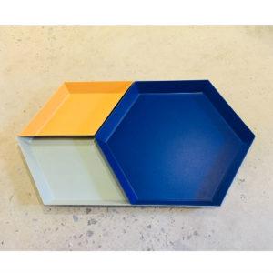 Hay Kaleido Tray Set of 3 Contemporary Designer Homeware