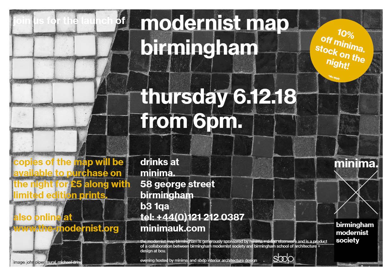 minima x birmingham modernist society