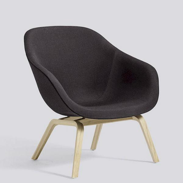 Hay AAL83 Soaped Oak Black Remix Contemporary Designer Furniture