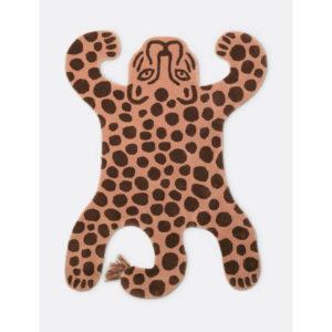 Ferm Living Safari Tufted Leopard Rug Contemporary Designer Homeware