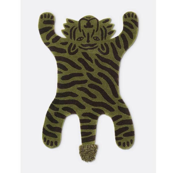 Ferm Living Safari Tufted Tiger Contemporary Designer Homeware