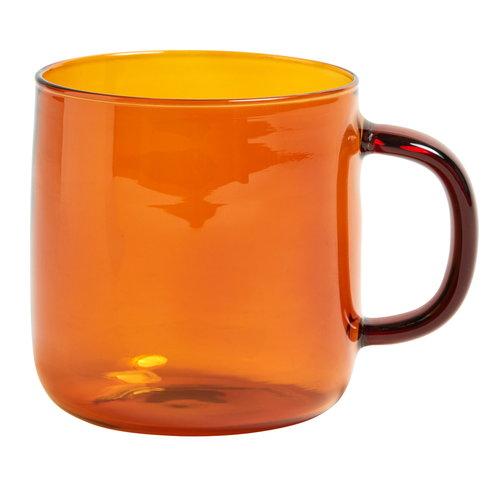 Hay Borosilicate mug amber Contemporary Designer Homeware