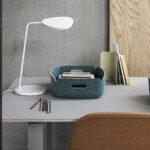 Muuto-Leaf-Table-Lamp-White-Lifestyle Contemporary Designer Lighting