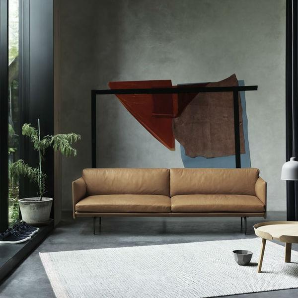 Muuto Outline 3 seater lifestyle Contemporary Designer Furniture