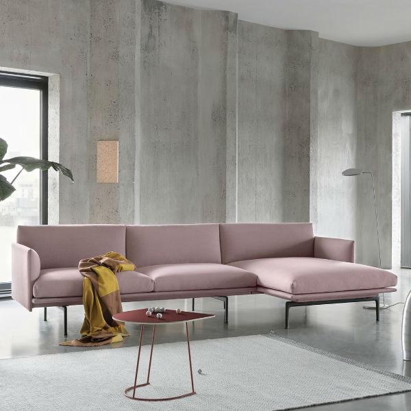 Muuto Outline Chaise Longue Lifestyle Contemporary Designer Furniture