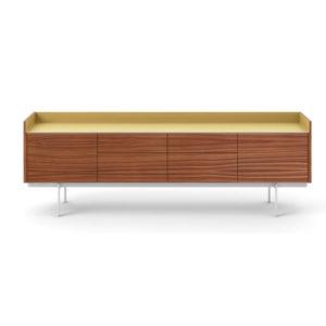 Punt Stockholm 4 doors walnut gold Contemporary Designer Furniture